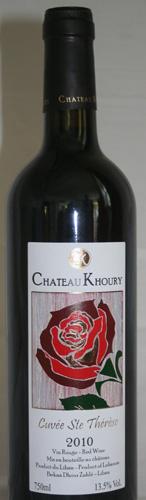 Chateau-Khoury-Cuvee-StTherese-2011
